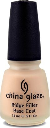 China Glaze Ridge Filler Base Coat