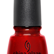 China Glaze Go Crazy Red #003