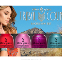 Zestaw China Glaze Tribal Council 3,6 ml