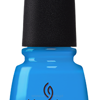 China Glaze Dj Blue My Mind  82606