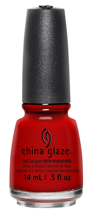 China Glaze Paint The Town Red #554